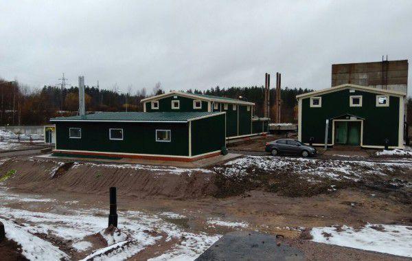Реконструкция очистных сооружений г. Каменногорска