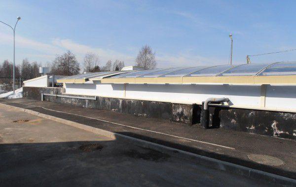 Реконструкция канализационных очистных сооружений в дер. Снегиревка