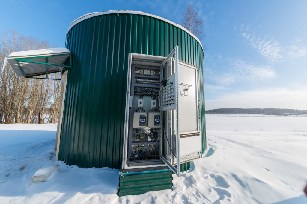Оборудование - шкафы управления | Акваинж